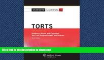 READ THE NEW BOOK Casenote Legal Briefs: Torts, Keyed to Goldberg, Sebok,   Ziprusky, Third