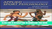 EPUB Applied Sport Psychology: Personal Growth to Peak Performance PDF Ebook