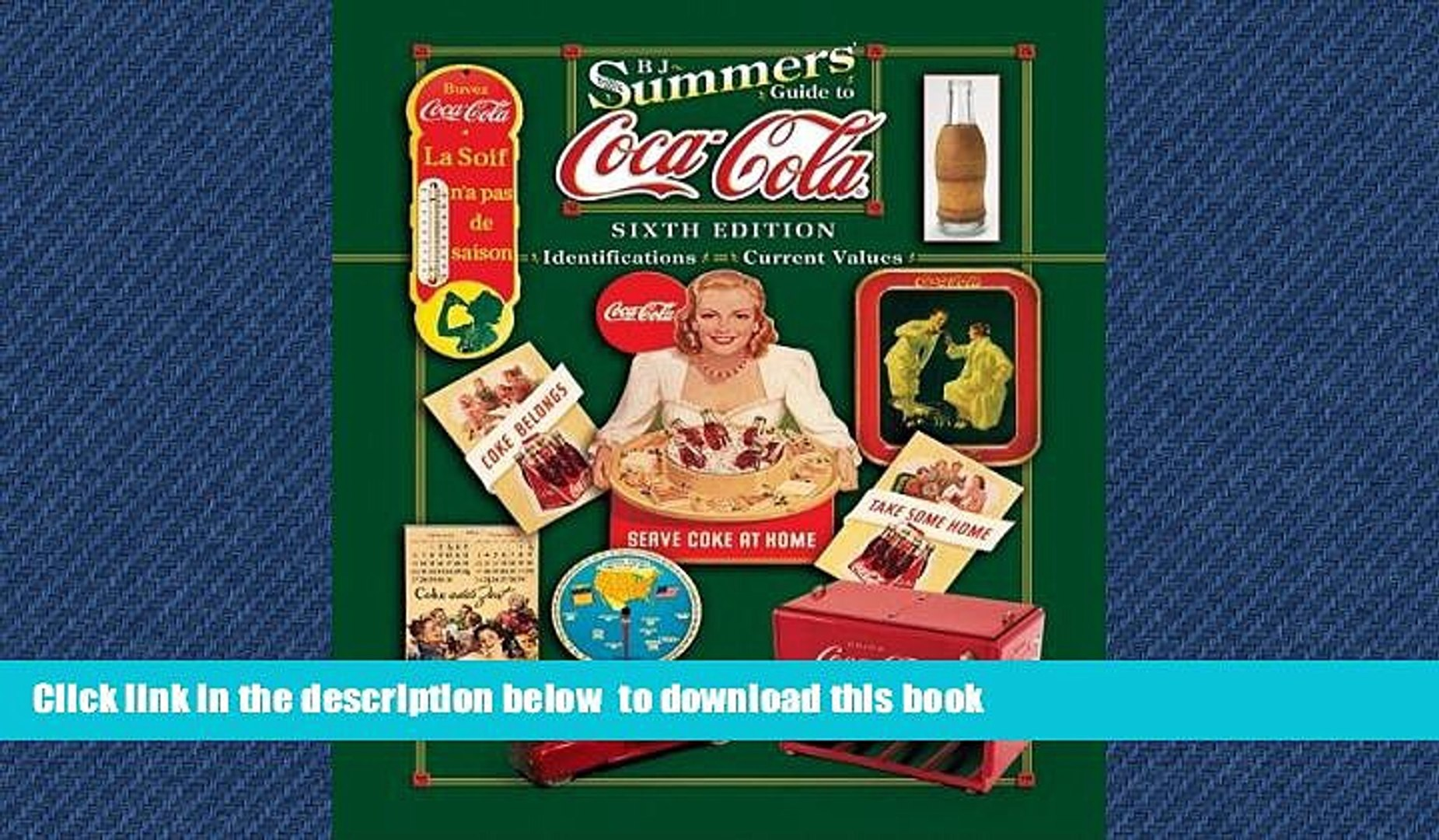 Buy NOW B J Summers B J Summer s Guide to Coca-Cola (B. J. Summers  Guide to Coca-Cola: