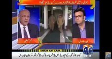 Najam sethi accused Raheel sharif,said' first time Gen raheel  attacked journalists as traitors through ISPR and build h