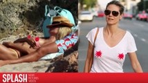 Heidi Klum aime voir plus de seins et moins de soutien-gorge