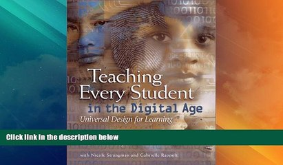 Price Teaching Every Student in the Digital Age: Universal Design for Learning David Rose For Kindle