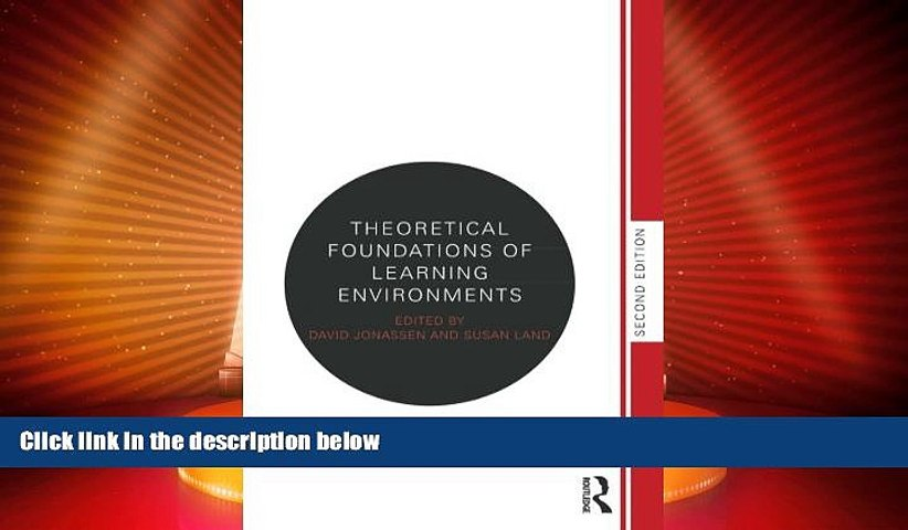 Best Price Theoretical Foundations of Learning Environments  PDF