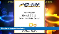 Best Price Microsoft Excel 2013: Intermediate Level EZ-Ref Courseware For Kindle