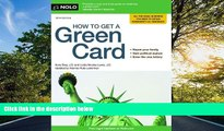 Audiobook How to Get a Green Card Ilona Bray J.D. BOOOK ONLINE