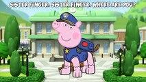 Peppa Pig & Paw Patrol Finger Family Fancy Dress Animation Nursery Rhyme Song