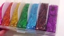 Sleeping Bunnies   Learn Colors DIY How To Make Foam Clay Glitter Rainbow Slime Toys   Finger Family