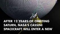 NASA's Cassini ready to explore Saturn's rings