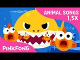 FASTER Version of Baby Shark   Faster and Faster!   Animal Songs   PINKFONG Songs for Children