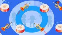 cinq petits bébés | comptines en français | chansons pour les enfants | Five Little Babies