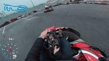 Karting: Un accident qu'il n'est pas près d'oublier