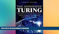 FAVORITE BOOK  The Annotated Turing: A Guided Tour Through Alan Turing s Historic Paper on
