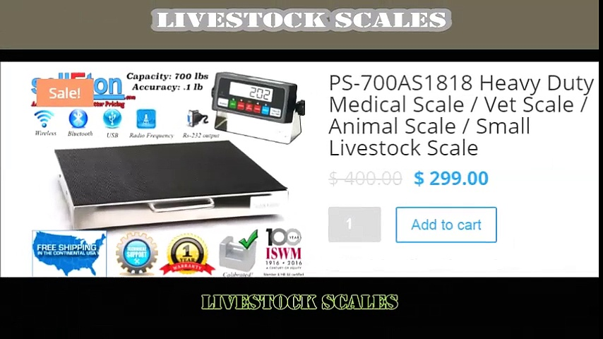livestock scales