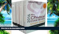 Pre Order Wiley CPAexcel Exam Review 2016 Study Guide January: Set (Wiley Cpa Exam Review) O. Ray