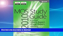 READ  MOS 2010 Study Guide for Microsoft Word Expert, Excel Expert, Access, and SharePoint Exams