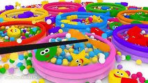 Learn Shapes for Children Baby Toddlers Kindergarten Kids 3D Colors Ball Pit