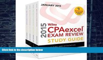 Best Price Wiley CPAexcel Exam Review 2015 Study Guide January: Set (Wiley Cpa Exam Review) O. Ray