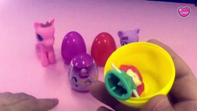 Hello Kitty, Disney Surprise Eggs, Little pony, Pony Eggs, Disney Princess, Surprise Eggs