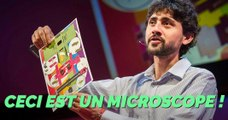 FOLDOSCOPE : un étonnant microscope en papier à construire vous-même