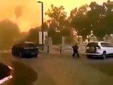Muslims Says let Israel burn entirely: Israel On Fire