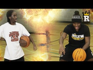 KSI's Basketball Training: Dribbling | Rule'm Sports