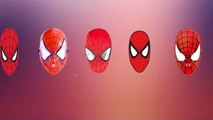 DADDY FINGER FAMILY SONG Spiderman Mask Nursery Rhymes for Children Babies and Toddlers