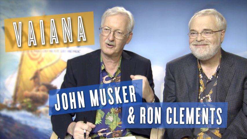 Vaiana : John Musker & Ron Clements dessinent la Princesse Disney (interview)
