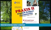 READ THE NEW BOOK Praxis II English Subject Assessments (0041, 0042, 0043, 0049) w/CD (REA)