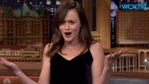 """Alexis Bledel Visits The Tonight Show To Discuss """"Gilmore Girls"""""""