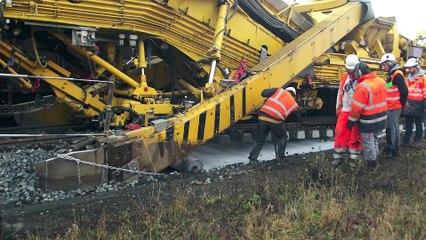 Dans les coulisses du plus grand chantier ferroviaire de Picardie