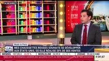 Made in Paris de Mes Chaussettes Rouges, le distributeur exclusif de Gamarelli, les chaussettes du pape et des prélats - 29/11