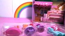 (TOYS) My Little Pony Bakery Mrs Dazzle Cake Rainbow Playset ♥ Mon Petit Poney La Boulangerie Jouet