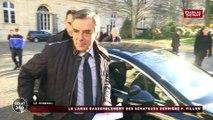 François Fillon au Sénat devant les sénateurs LR et UDI