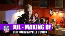 """Mrik sur le tournage du clip de Jul """"On m'appelle l'Ovni"""""""