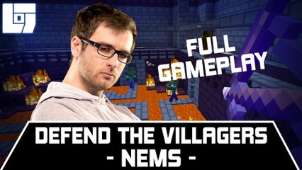 NEMS – DEFEND THE VILLAGERS – FULL GAMEPLAY
