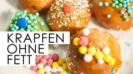 Karnevals-Krapfen fast OHNE FETT - Kantine Gold