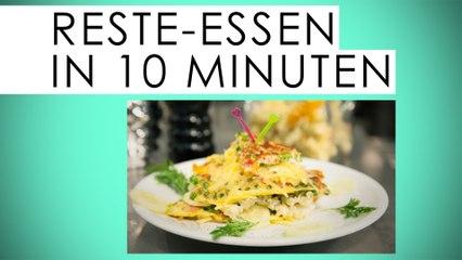 Resteküche in 10 Minuten: Der Omelett-Burger - Kantine Gold