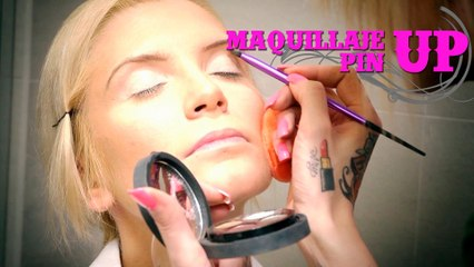 Maquillaje Pin up   Pin up tutorial