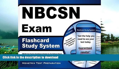 read the new book nbcsn exam flashcard study system nbcsn test practice questions review for