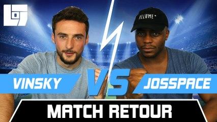 VINSKY VS JOSSPACE (2/2) - SESSION D'ÉTÉ FIFA – Legends Of Gaming