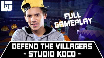 STUDIOKOCO – DEFEND THE VILLAGERS – FULL GAMEPLAY
