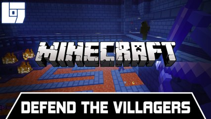 Session MINECRAFT - Defend the villagers - Legends Of Gaming