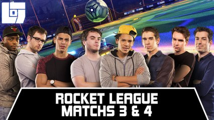 Session ROCKET LEAGUE - Matchs 3 & 4 - Legends Of Gaming