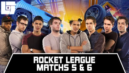 Session ROCKET LEAGUE - Matchs 5 & 6 - Legends Of Gaming