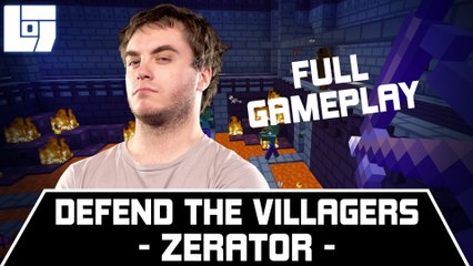 ZERATOR – DEFEND THE VILLAGERS – FULL GAMEPLAY