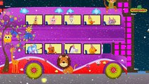 The Wheels On The Bus | Zoo Animal Song | Animals Nursery Rhyme | Kindergarten Baby Song | Rhymes |