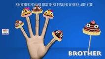 Cake Pop Finger Family Cartoon Animation Nursery Rhyme | Cake Pop Daddy Finger Rhymes For Children