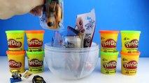 PJ Masks Romeo Play Doh Surprise Egg - PJ Masks Romeo Catboy Gekko Owlette Toys Surprises