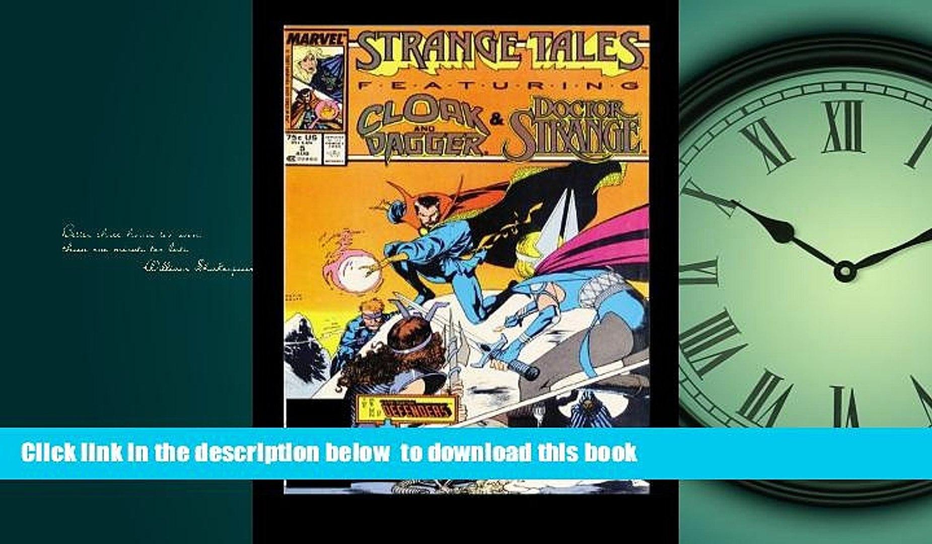 Pre Order Dr. Strange: Strange Tales Peter Gillis Audiobook Download