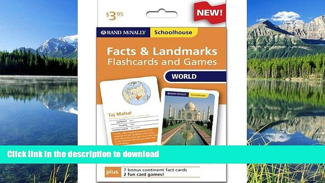 READ THE NEW BOOK Rand Mcnally Schoolhouse World Facts   Landmarks Flashcards And Games READ NOW